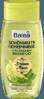 Шампунь с экстрактом лимонной мяты Balea Schönheitsgeheimnisse Zitronenminze, 250 ml