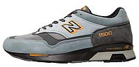 Мужские кроссовки New Balance 1500 GRAY/Orange