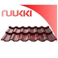 Модульная металлочерепица Finnera® Ruukki 0,52 мм .