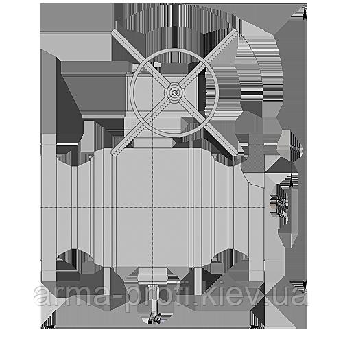 Кран шаровый наземный фланцевый PN63 с ручным управлением DN 200