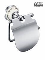 Держатель для туалетной бумаги с крышкой nik - 57062