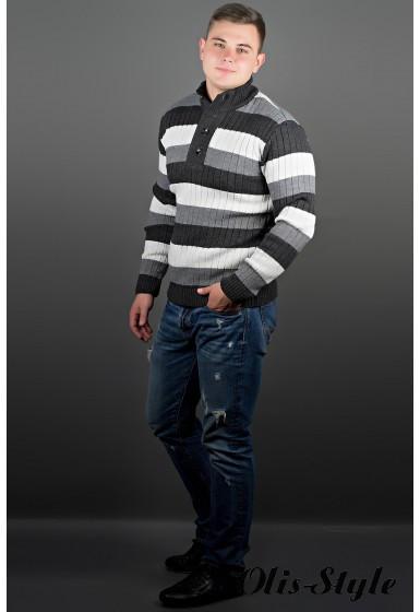 Мужской свитер Вильям черный