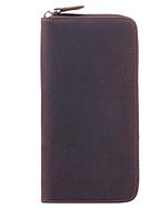 Мужской кожаный винтажный клатч