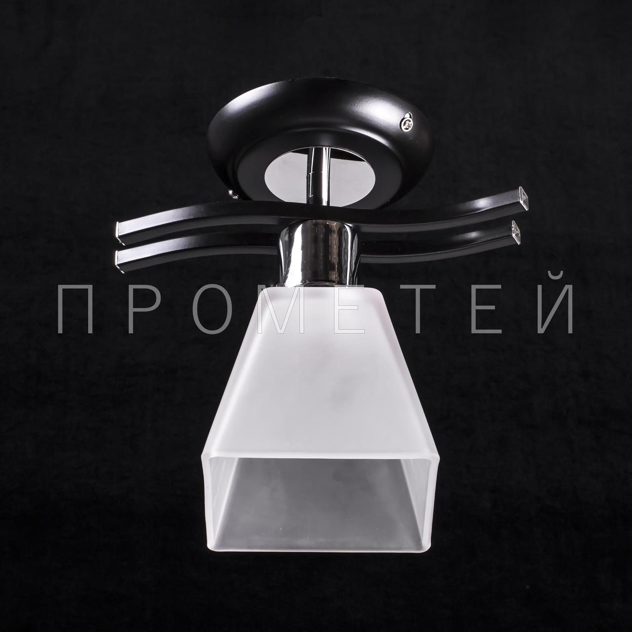 Люстра Припотолочная на одну лампочку P3-B015/1C/BK+CR+WT