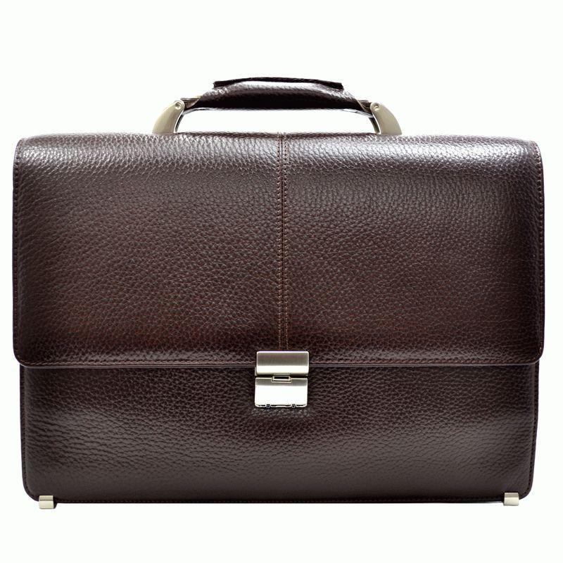 Кожаный мужской портфель DESISAN