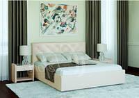 Кровать с мягким изголовьем Анжели 90 (Лефорт/Lefort) 1160х1100х2090мм