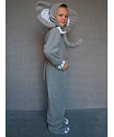"""Костюм """"Слоник"""" на возраст от 3 до 6 лет (95-120 см) серый"""