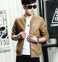 Мужская кожаная куртка. Модель 61128
