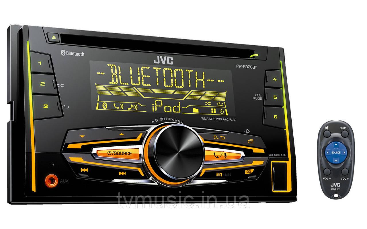 Автомагнитола JVC KW-R920BT