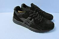 Мужские кроссовки ASICS (035-9) черные код 0775А