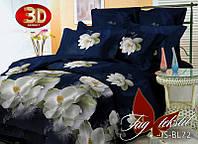 Комплект постельного белья 3D PS-BL72 евро (TAG polysatin-004/е)