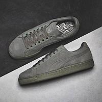 Мужские кроссовки PUMA SUEDE CLASSIC TONAL (AGAVE GREEN) АТ-588 b1679217ea492