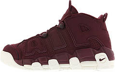 Женские кроссовки Nike Air More Uptempo Maroon Night Maroon Sail
