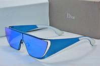 Солнцезащитные очки Dior rihana голубые, фото 1