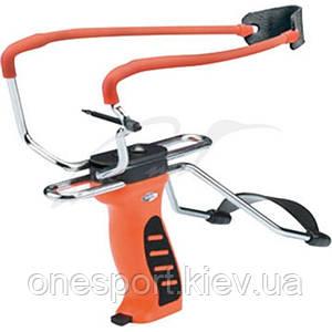 Рогатка Man Kung MK-SL06O с упором ц:оранжевый (код 186-391099)