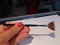 Кисть веерная для ногтей