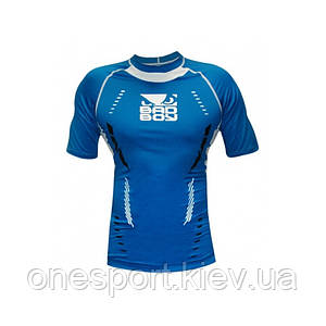 Компрессионная футболка BAD BOY Sphere Compession Top SS XL синий + сертификат на 50 грн в подарок (код 179-396025)