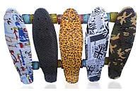 Скейт CRICA-22 (penny board) светящие колеса