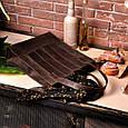 """Сумка-шоппер женская кожаная """"Бэтси"""". Цвет орех, фото 5"""