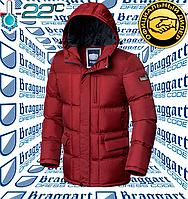 Стильная мужская куртка Braggart Dress Code - 2610#2609 красный