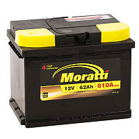 Аккумулятор автомобильный Moratti 6СТ-62 АзЕ