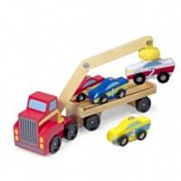 MD19390 Magnetic Car Loader (Магнитный деревянный автопогрузчик) (код 182-428707)