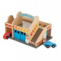 MD19271 Service Station Parking Garage (Деревянный набор СТО) (код 182-428703)