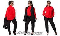 Стильный  женский костюм тройка  Размер: 50,52,54