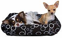 Лежак Trixie Marino плюш и полиэстер, коричневый, 55х55 см, фото 1