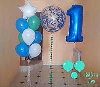 Оформление праздника на первый год жизни
