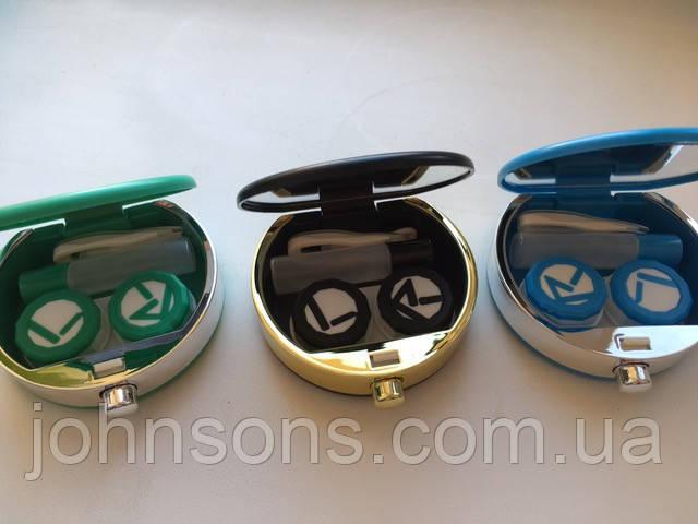 Дорожный набор для контактных линз белый