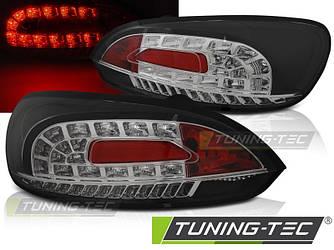Стопы фонари тюнинг оптика Volkswagen Scirocco 3 черные