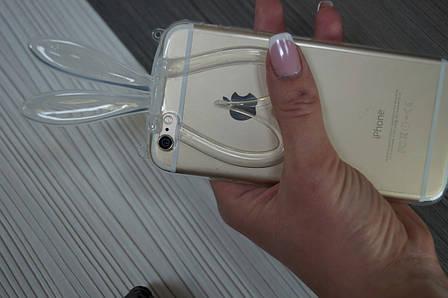 Чехол для iPhone 6  силиконовый  ( с ушками ), фото 2