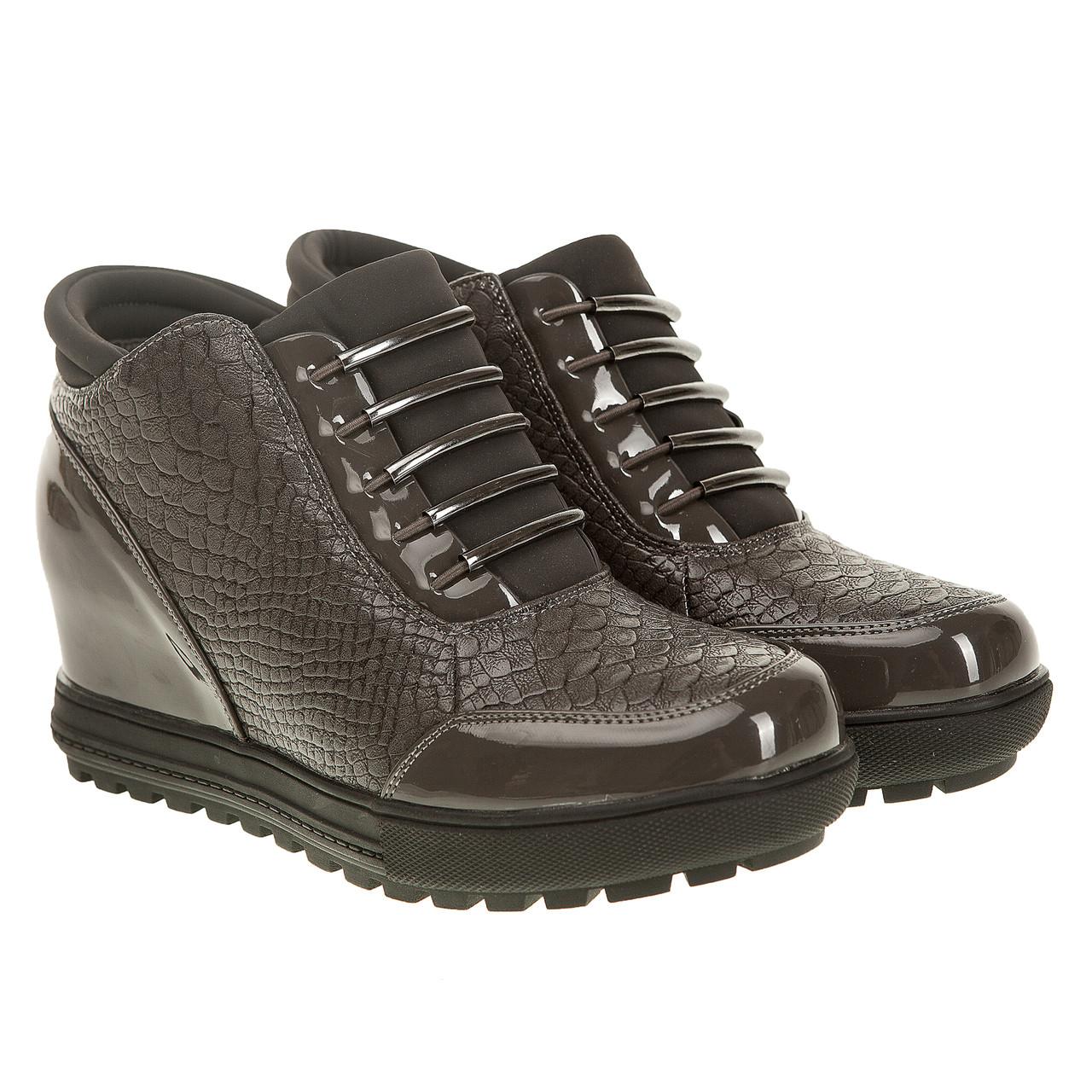 f4af8990e Женские ботинки S. Barski (серого цвета, оригинальные, удобные, практичные)