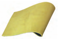 Correx Belge Гладкая футеровочная резина ,защитная система от коррозии,износостойкая,с контактным слоем.