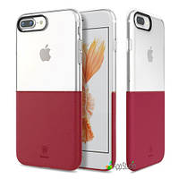 Чехол Baseus Half to Half Case For iphone7 Plus Red