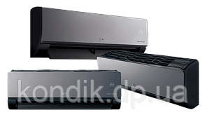 Кондиционер LG AM09BP.NSJRO/AM09BP.UA3RO Artcool Mirror Black Inverter R410A, фото 2