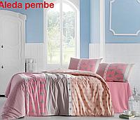 Полуторный постельный комплект Altinbasak Aleda pink