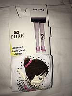 """Детские колготки """"Dore"""" с вышитым рисунком на 10-12 лет"""