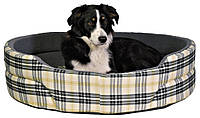 Лежак Trixie Lucky бавовна і штучна шерсть, картатий, 45х35 см