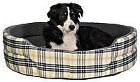 Лежак Trixie Lucky хлопок и искусственная шерсть, клетчатый, 95х75 см, фото 1