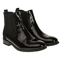 e9eb7669b Женские ботинки Kento (сочетание лака и замши, удобные, практичные, модные)
