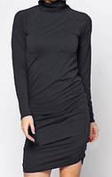 Распродажа. Короткое облегающее платье SiSi, цвет черный р. L