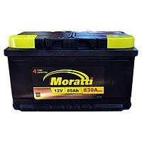 Аккумулятор автомобильный Moratti 6СТ-85 АзЕ