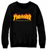 Thrasher. Свитшот Трешер black