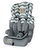 Автокресло Bertoni Junior Plus Grey Baby Owls