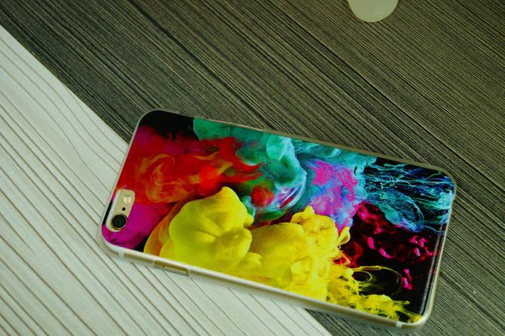 Чехол для iPhone 6  твердый пластик ( яркие краски ), фото 2