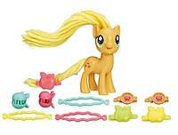 Пони с праздничными прическами Эплджек Май Литл Пони Hasbro (My Little Pony)