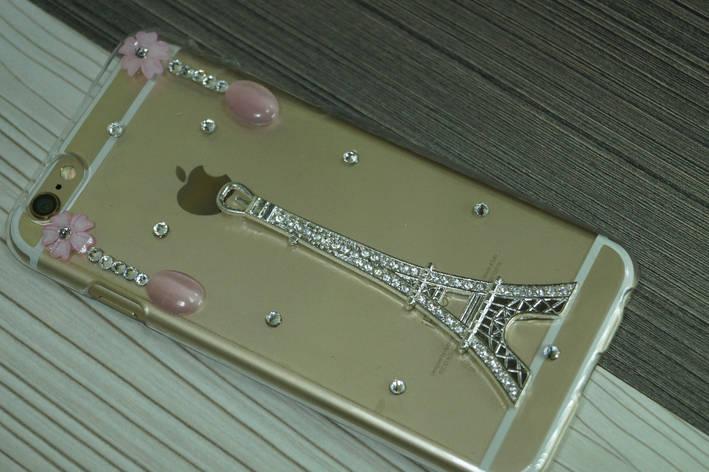 Чехол для iPhone 6  твердый пластик Со стразами и камнями, фото 2