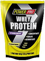 WHEY PROTEIN сывороточный протеин банан 1кг Power Pro